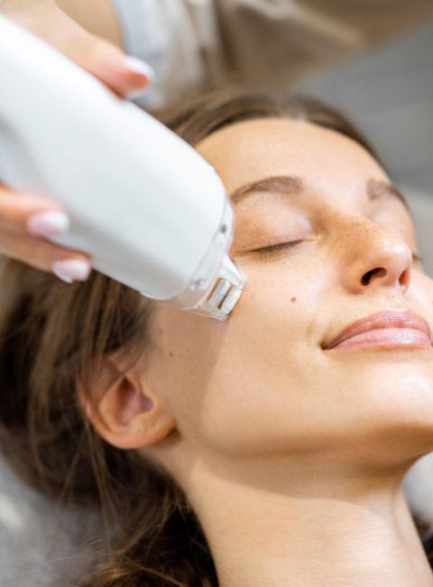 lasemd skin rejuvenation patient
